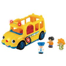 Fisher Price Little People Lil' Movers School Bus with So...