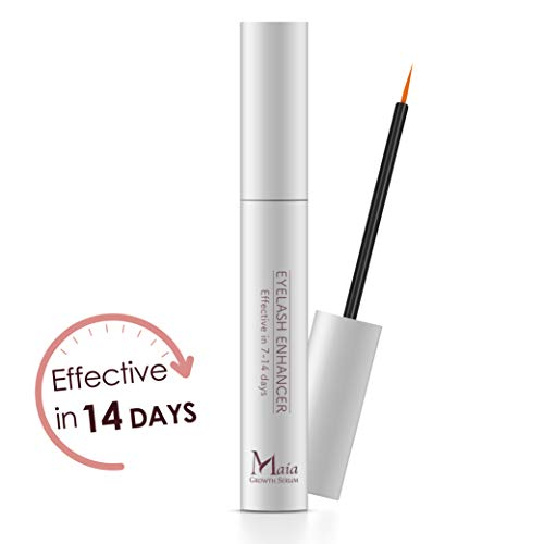 Maia Eyelash Extension Serum- Eyelash Growth Serum For Fuller, Longer, Thicker and Stronger Lashes, Enhances the Appearance Of Natural Lash Growth and Regrowth