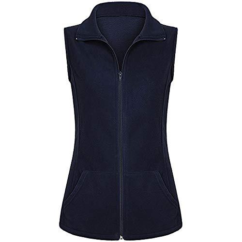 Women Casual Women's Standard Full-Zip Polar Fleece Vest (Full Zip Polar Fleece Vest)