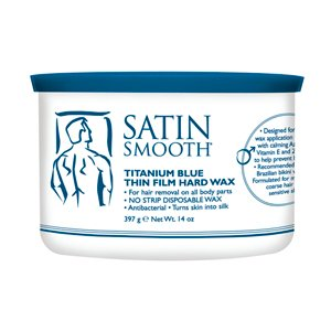 Gold Wax Hard (Satin Smooth Titanium Blue 14oz [Health and Beauty])