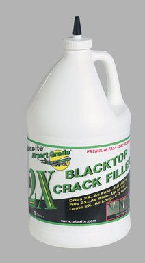 DALTON ENTERPRISES 31263 Airport Grade 2X Blacktop Crack Filler, 1 Gallon (Best Acrylic Blacktop Sealer)