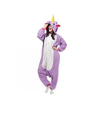 JIMINCI New Pajamas Anime Costume Adult Animal Onesie Unicorn Cosplay