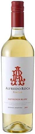 Alfredo Roca- Vino Blanco - Sauvignon Blanc - Industria Mendoza -Argentina - Delicioso Vino Argentino- Cosecha 2018-75 Cl