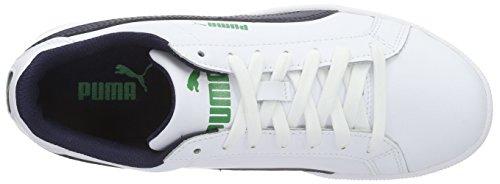 Puma Smash Fun L - Zapatillas de deporte Niños Blanco - Blanc (White/Peacoat)