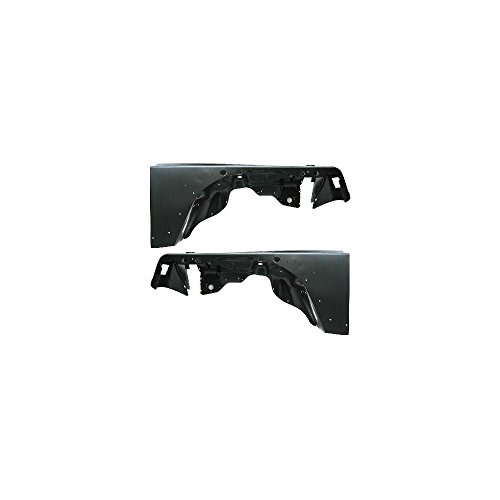 Fender for 1997-2006 Jeep Wrangler (TJ) Set of 2 Steel Primed Front Left and Right Side