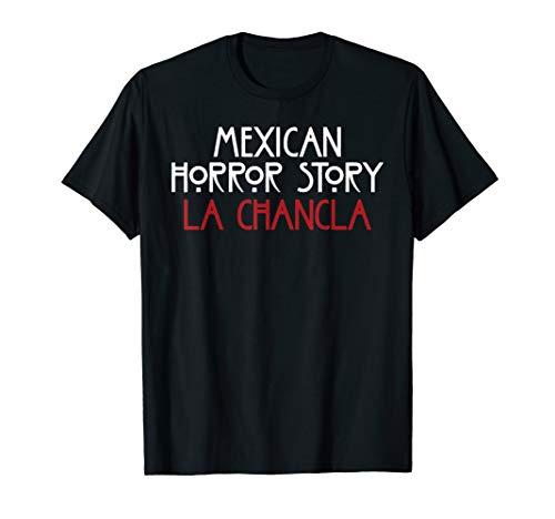 Funny Mexican Shirts La Chancla Quote]()