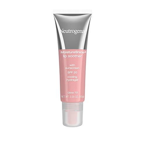 Neutrogena MoistureShine Lip Soother with SPF 20, Glow [70], 0.35 oz