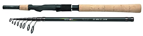 Shimano Exage BX STC Mini Tele Spinning 210 ML Medium Light, 7 Feet, Travel Spinning Fishing Rod, TEXBXMTS21ML by Shimano