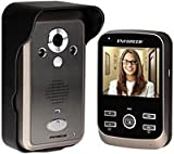 SECO-LARM DP-236Q Wireless Video Door Phone, Complete System, Talk with visitors and unlock doors or gates via the monitor, Includes a kickstand and charging base for the monitor
