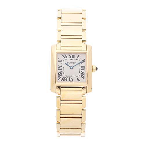 Cartier Tank Quartz (Battery) Silver Dial Womens Watch W50003N2 (Certified Pre-Owned)