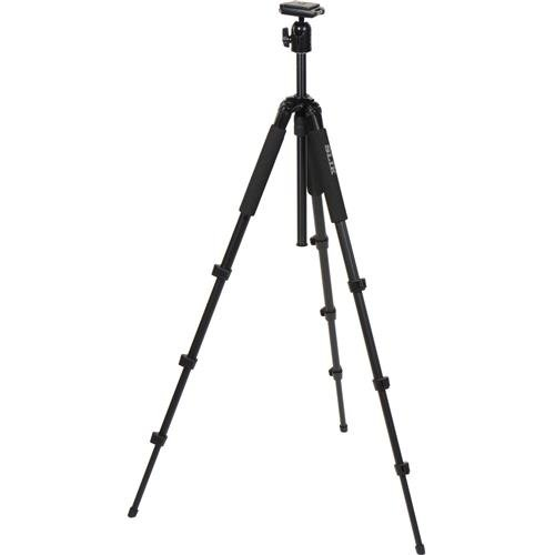 SLIK Sprint 150 Aluminum Tripod with SBH-150DQ Ball Head, Black (611-875)
