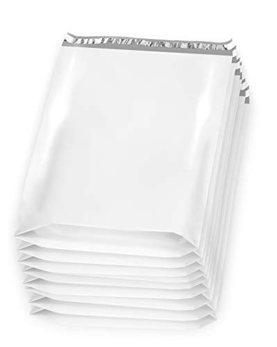 100 Pack of White Poly Mailers 1...