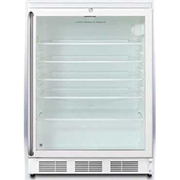 Summit SCR600LBISH Commercially Approved Compact Refrigerator