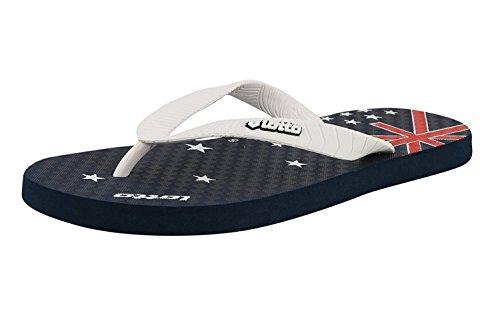 Lotto Men's Slipper LS-5 Grey/Red/White GV1273 UK/IN
