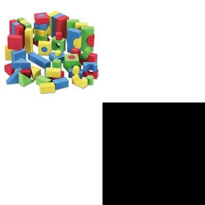 KITCKC4380KIM21271 - Value Kit - Chenille Kraft WonderFoam Blocks (CKC4380) and KIMBERLY CLARK KLEENEX White Facial Tissue (KIM21271)