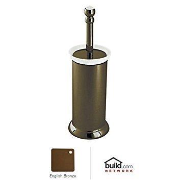 (Rohl U.6937EB 9.25653Pn U.6937 Perrin and Rowe Floor Standing Toilet Brush Holder, English Bronze)