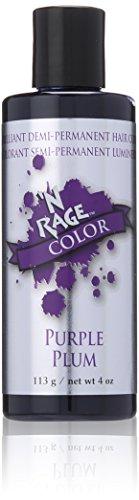 N'rage Brilliant Demi Permanente Hair Color, Purple Plum, 4 (Plum Dye)
