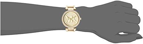 Michael Kors Women's Parker Gold-Tone Watch MK5784 by Michael Kors (Image #3)