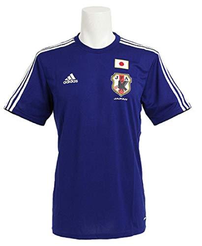 ビルマ個人不実adidas アディダス 日本代表 サッカーウェア ユニフォーム JFA ホーム レプリカ Tシャツ XS(157-163cm) 国内正規品 G85293 ジャパンブルー