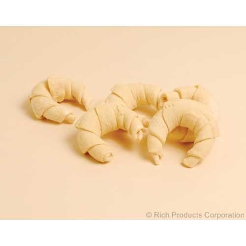 Rich Mrs.Richs Bakery Plain Shaped Croissant Dough, 2.75 Ounce -- 120 per case.
