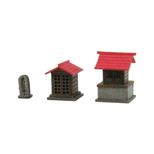 Shrine B 1/150 Diorama Option Kit (Paper)