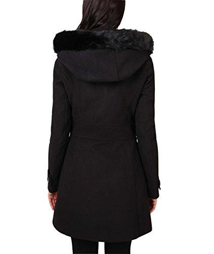 Krisp Noir Femme Manteau coat Mode 5652 Duffle 0RwTax0