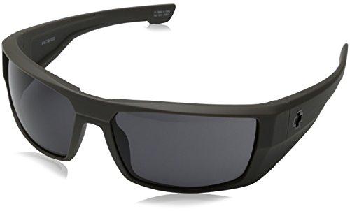 Spy Optic Dirk Wrap Sunglasses, Primer Grey/Grey, 64 - Dirk Sunglasses Spy Optic