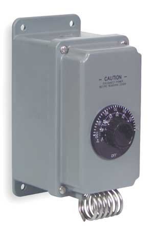 Line Voltage Mechanical Thermostat 24 To 277Vac