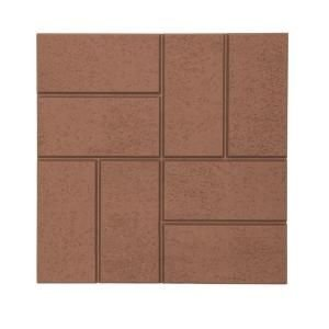 EmscoGroup 2158HD Plastic And Lightweight Brick Pattern Resin Patio Pavers by Emsco Group