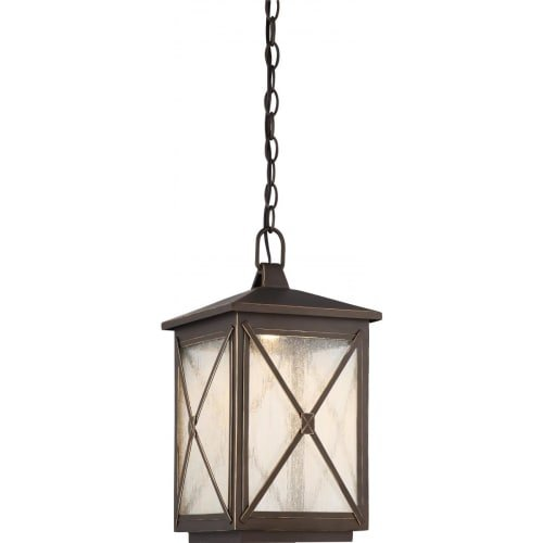 Nuvo Lighting 62/814 One Light Outdoor Hanging Lantern Nuvo LED