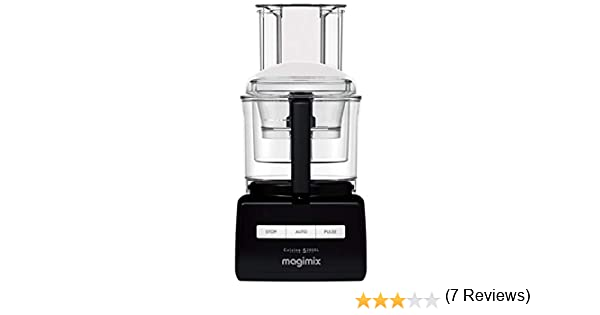 Magimix CS 5200 XL Premium 1100W 3.6L Rojo - Robot de cocina (3,6 ...