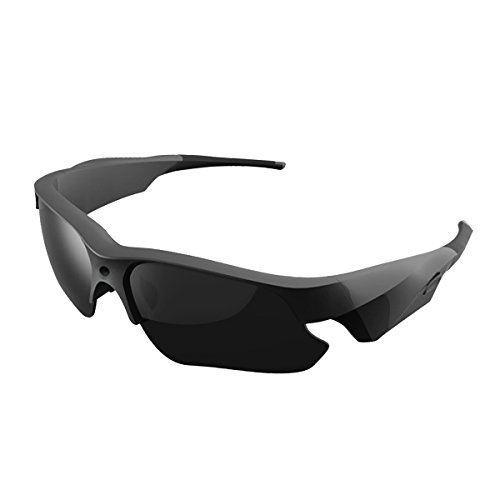 Sunglasses Camera, KAMRE Full HD 1080P Mini Video Camera with UV Protection Polarized Lens, A Perfect - Sunglasses Camcorder
