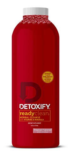 Detoxify Ready Clean Tropical Fruit 16 Oz (Best Way To Detox Your System For A Drug Test)