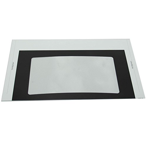 316427300 Range Oven Door Outer Glass Genuine Original Equipment Manufacturer (OEM) Part