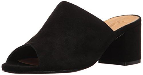 Schutz Women's Timon Slide Sandal, Black, 8.5 M US by SCHUTZ