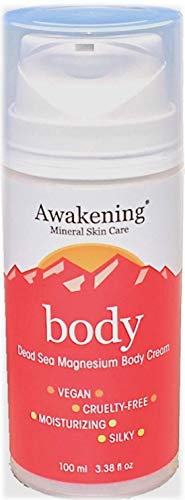 Awakening Mineral Skin Care Dead Sea Mineral-Rich Concentrated Magnesium BODY Cream ()