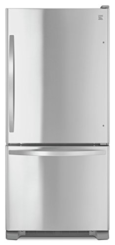 Automatic Stainless Steel Freezer - Kenmore 79313 19 cu. ft. Bottom Freezer Refrigerator in Stainless Steel, includes delivery and hookup