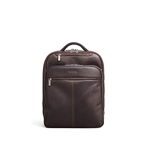 Kenneth Cole Laptop Bags - Kenneth Cole Reaction Back-Stage Access Colombian Leather Slim Dual Compartment 16
