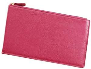 Large Flat Case 'Brights Pink' Leather by Graphic ImageTM -
