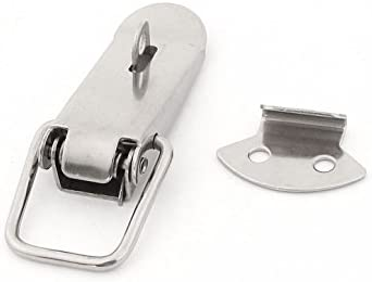 Armario para cajas con muelles traba de cierre pasador para puerta de hierro 8,89 cm