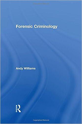Forensic Criminology Williams Andy 9780415672672 Amazon Com Books