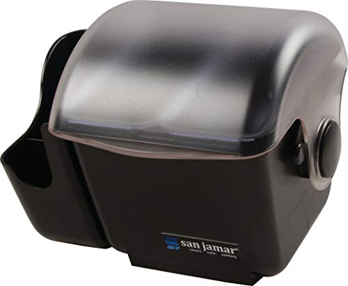 San Jamar BD2003 Mini Dome Garnish Center with Chillable Tray, 2pt Capacity (Condiment Tray Center)