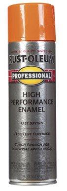 15oz. Safety Orange Professional High Performance Enamel Spray [Set of 6]