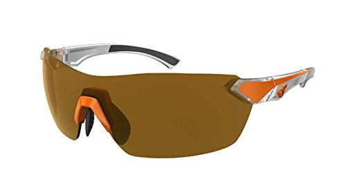 Ryders Eyewear Nimby Sunglasses Orange-White/Brown, One Size - Men's