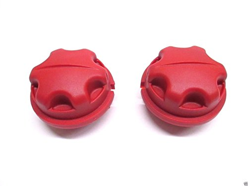 - Toro 51954 Trimmer (2 Pack) Replacement Red Bump Knob # 518803003-2pk