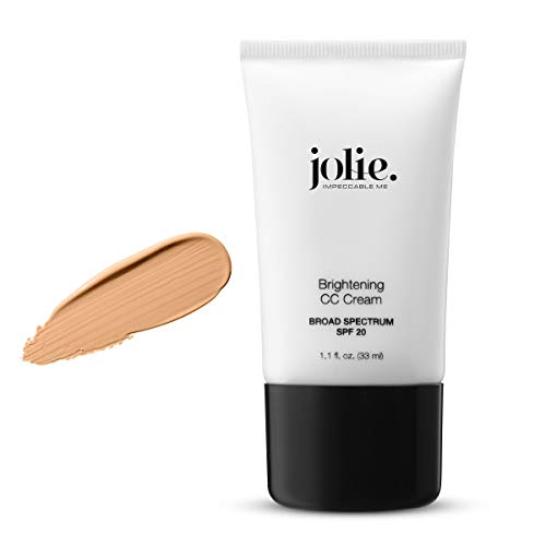Jolie Self-Adjusting Brightening Color Correcting CC Cream SPF 20 Oil Free (Medium Deep) (Tawny Finish Bronze)