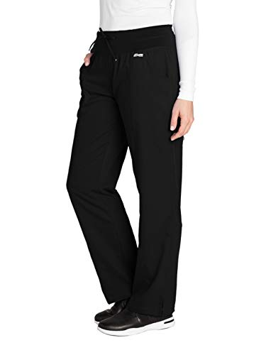 Grey's Anatomy Active 4276 Yoga Pant Black M - Tall Pants Scrub Women