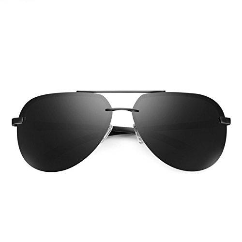 contra Faros Frame Gafas Black al Pesca Gafas montañismo Conductores luz Libre la Hombres Negro Solar conducción sapos Nocturna Gafas Vision Sol Black los de KOMNY la y polarizadas Aire Gray Marco de BqCzxU