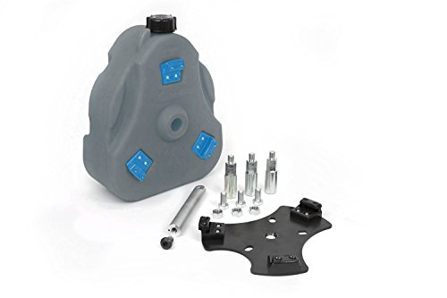 (Daystar, Jeep CJ Cam Can Complete Kit, Gray PBA free, Drinking Water, With Spout, fits 1946 to 2017 2/4WD, KJ71035RB, Made in America)