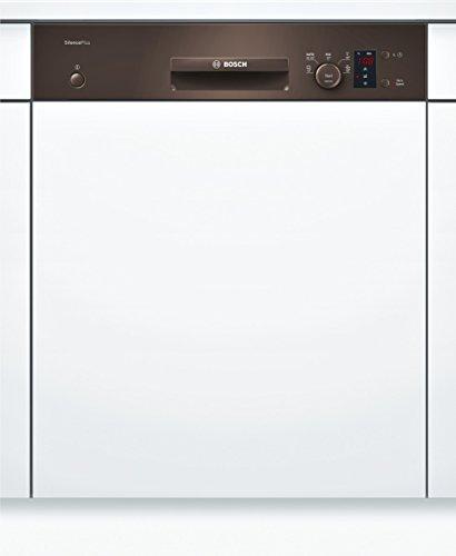 Bosch SMI50D44EU Serie 4 teilintegrierbarer Geschirrspüler / Einbau / A+ A / 12 Maßgedecke / 48 db / braun / Startzeitvorwahl / VarioSpeed / 59.8 cm